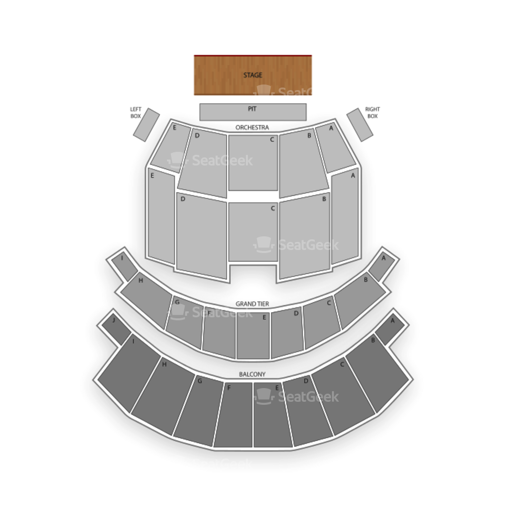 Altria Theater Seating Chart Concert