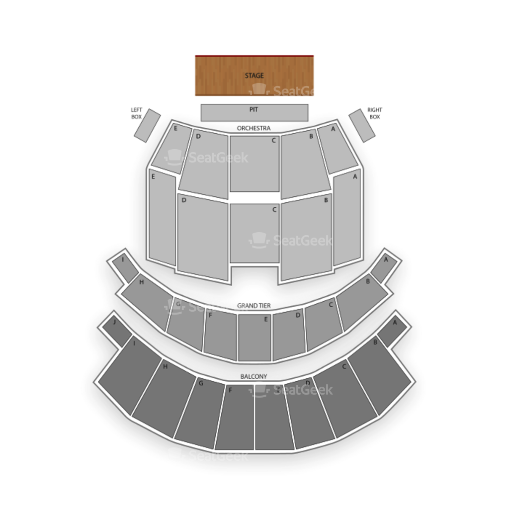 altria theater seating chart interactive seat map seatgeek altria theater seating chart dance performance tour