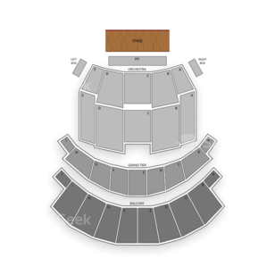 Altria Theater Seating Chart Family