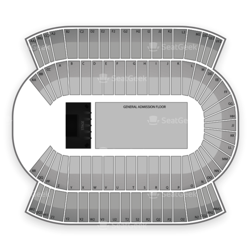 Commonwealth Stadium - Edmonton Seating Chart