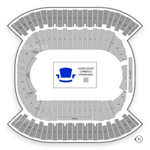Commonwealth Stadium - Edmonton Seating Chart Concert
