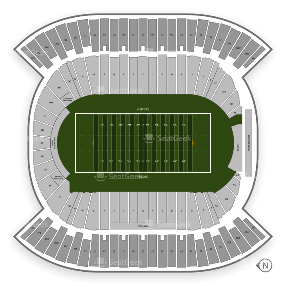 Commonwealth Stadium - Edmonton Seating Chart Football