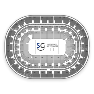 MTS Centre Seating Chart Classical