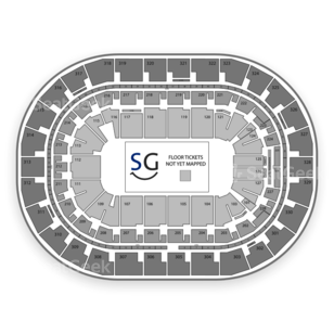 MTS Centre Seating Chart NBA