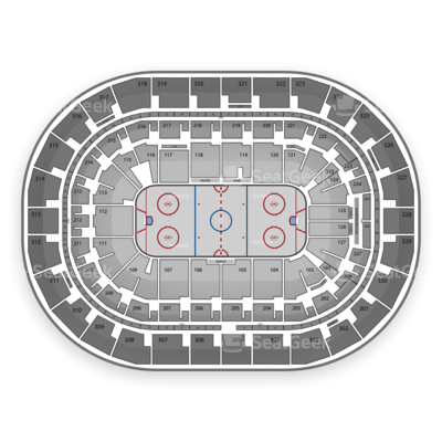 MTS Centre seating chart Winnipeg Jets