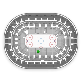 Winnipeg Jets at Bell MTS Place Section 106 View