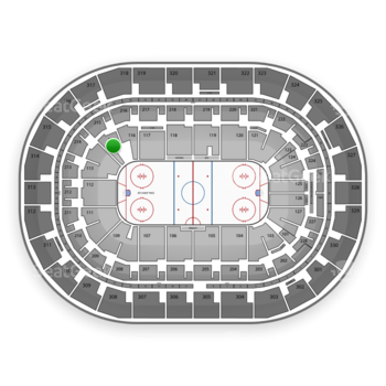 Winnipeg Jets at Bell MTS Place Section 115 View