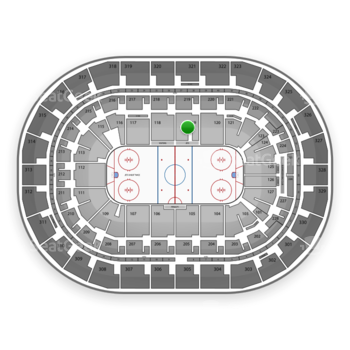 Winnipeg Jets at Bell MTS Place Section 119 View