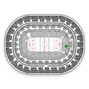Winnipeg Jets at Bell MTS Place Section 126 View