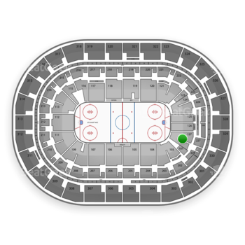 Winnipeg Jets at Bell MTS Place Section 127 View