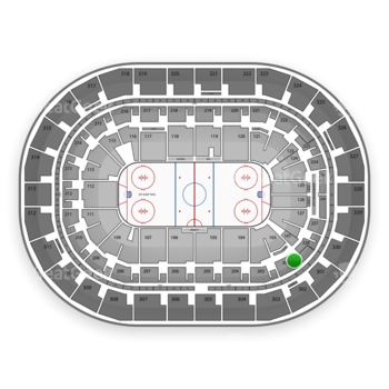 Winnipeg Jets at Bell MTS Place Section 202 View