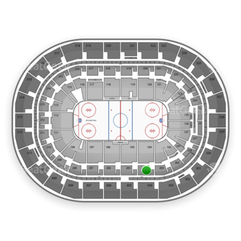 Winnipeg Jets at Bell MTS Place Section 204 View