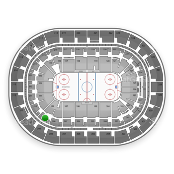 Winnipeg Jets at Bell MTS Place Section 209 View