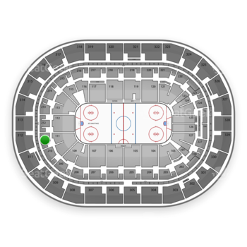 Winnipeg Jets at Bell MTS Place Section 211 View