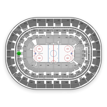 Winnipeg Jets at Bell MTS Place Section 212 View