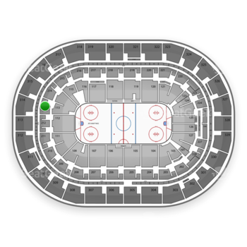Winnipeg Jets at Bell MTS Place Section 213 View