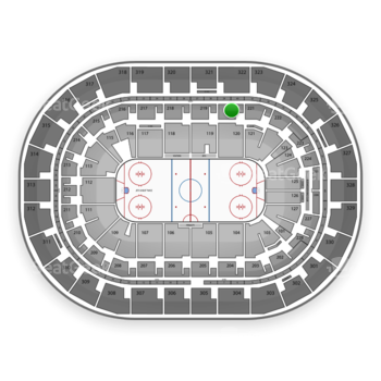 Winnipeg Jets at Bell MTS Place Section 220 View