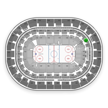 Winnipeg Jets at Bell MTS Place Section 223 View
