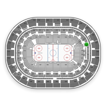 Winnipeg Jets at Bell MTS Place Section 224 View