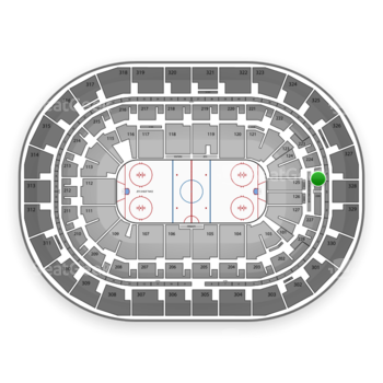 Winnipeg Jets at Bell MTS Place Section 225 View