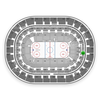 Winnipeg Jets at Bell MTS Place Section 226 View