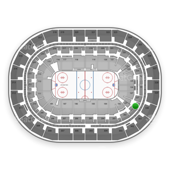 Winnipeg Jets at Bell MTS Place Section 228 View