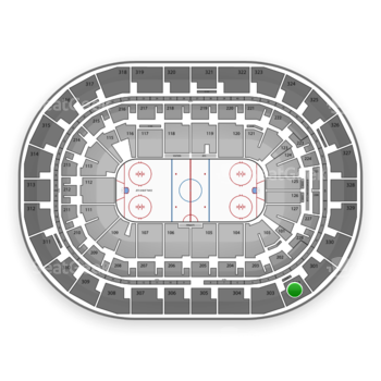 Winnipeg Jets at Bell MTS Place Section 302 View