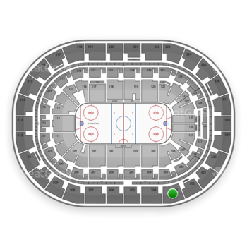 Winnipeg Jets at Bell MTS Place Section 303 View