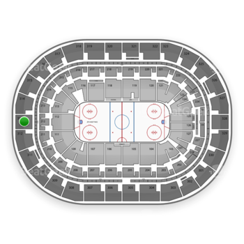 Winnipeg Jets at Bell MTS Place Section 313 View