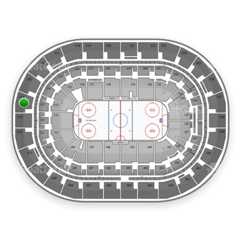 Winnipeg Jets at Bell MTS Place Section 314 View