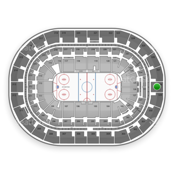 Winnipeg Jets at Bell MTS Place Section 328 View