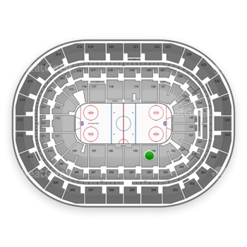 Winnipeg Jets at MTS Centre Section 104 View