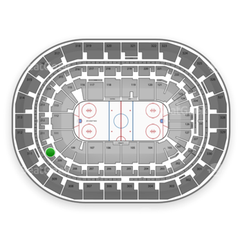 Winnipeg Jets at MTS Centre Section 210 View