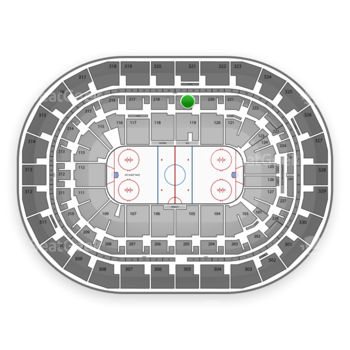 Winnipeg Jets at MTS Centre Section 219 View