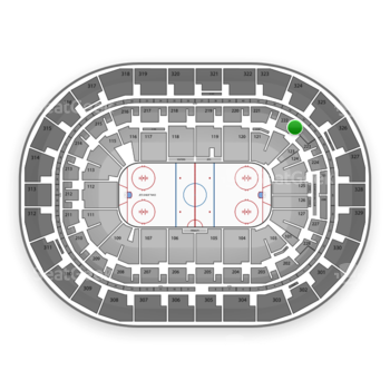 Winnipeg Jets at MTS Centre Section 222 View