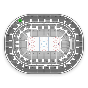 Winnipeg Jets at MTS Centre Section 317 View