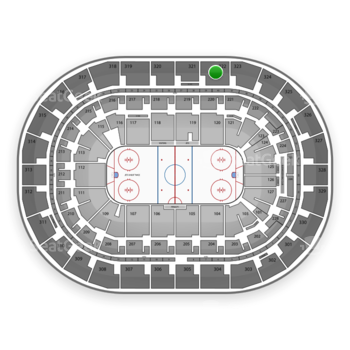 Winnipeg Jets at MTS Centre Section 322 View