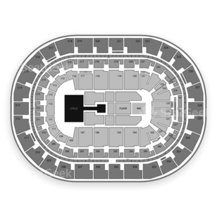 Bell MTS Place Seating Chart Concert