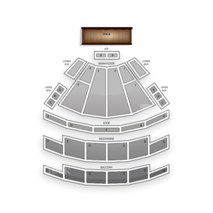 Palace Theatre Columbus Seating Chart Concert