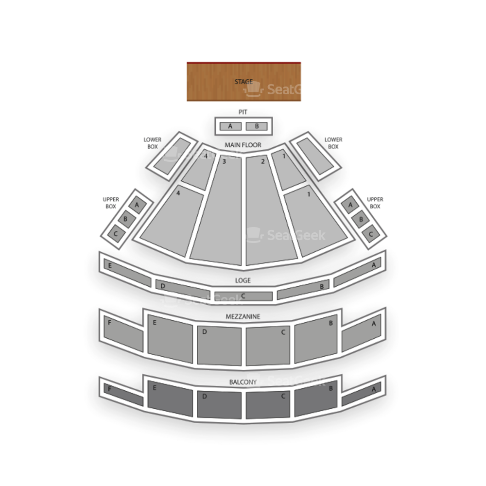 Palace Theatre Columbus Seating Chart Parking