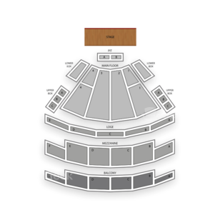 Palace Theatre Columbus Seating Chart Classical