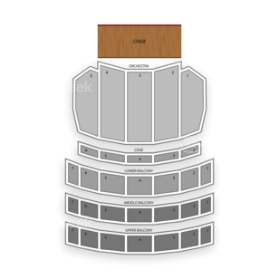 Sheas Performing Arts Center Seating Chart Concert
