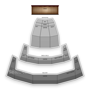 Chrysler Hall Seating Chart Comedy