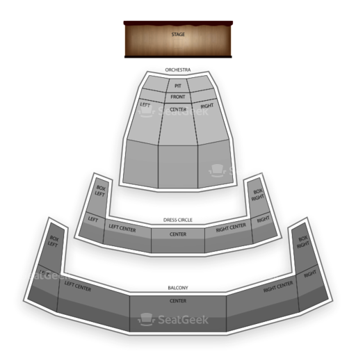 Chrysler Hall Seating Chart