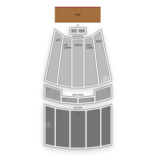 Johnny Mercer Theatre Seating Chart Comedy