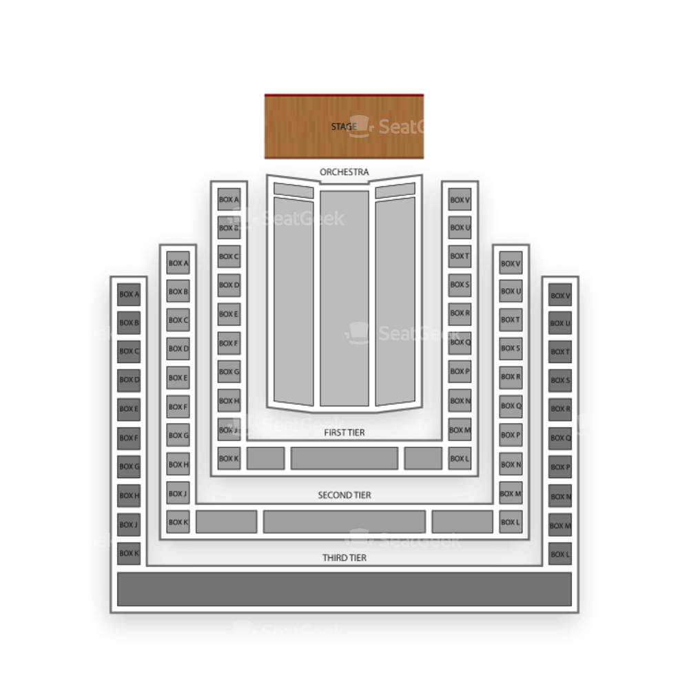 Benaroya Hall Seating Chart Theater