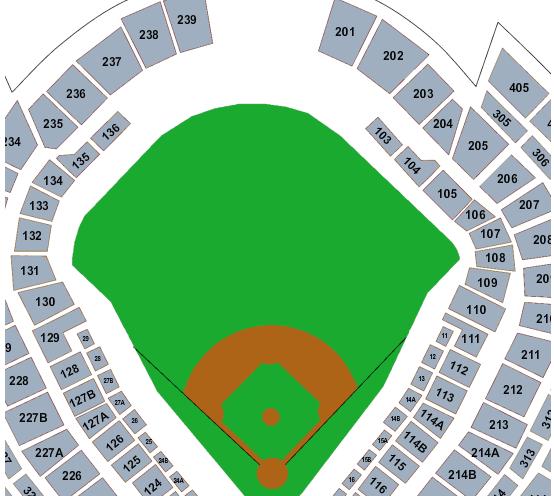 Yankee Stadium Seating Map