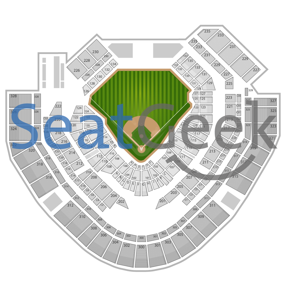 San diego padres seating chart tba