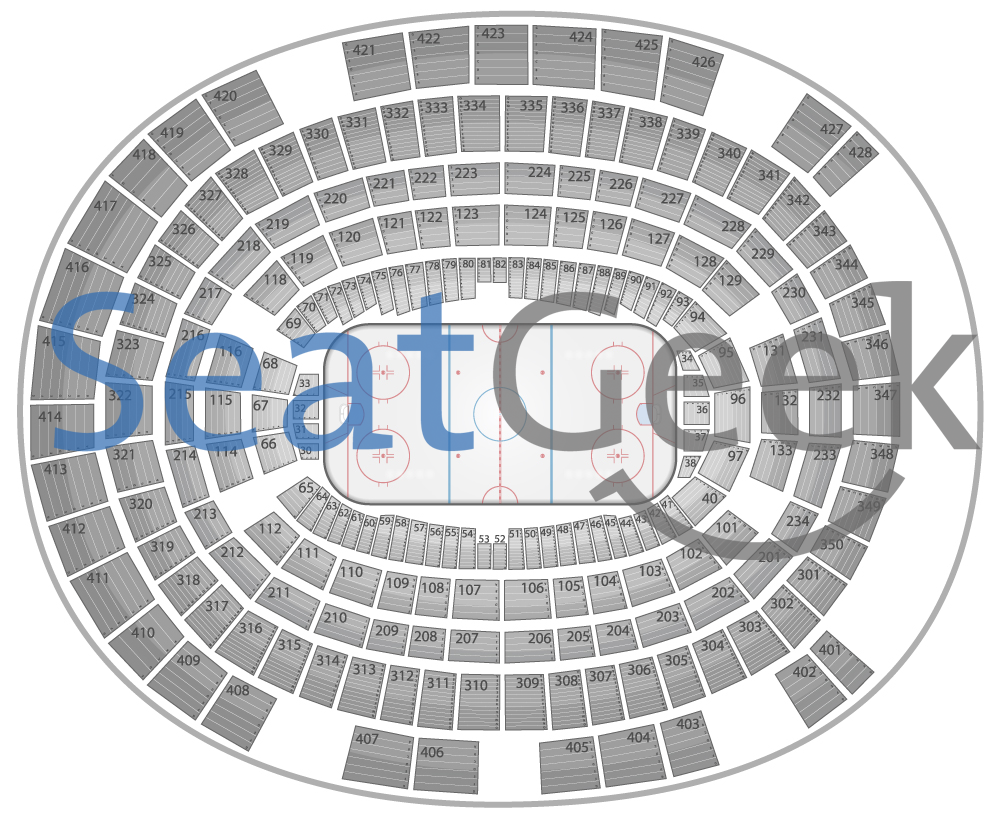 Madison square garden seating chart knicks and rangers tba