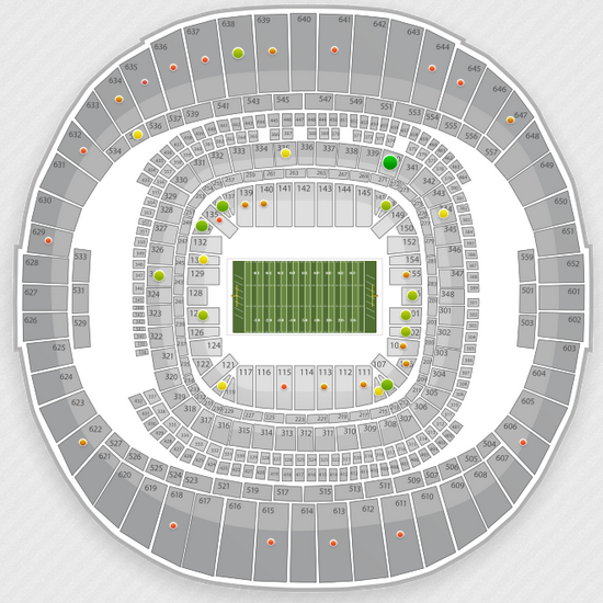 BCS Championship Tickets and Seating Chart